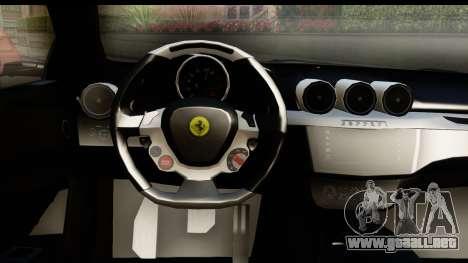 NFS Rivals Ferrari FF para visión interna GTA San Andreas