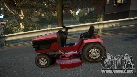 GTA V Lawn Mower para GTA 4 left
