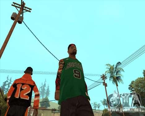 Grove HD para GTA San Andreas segunda pantalla
