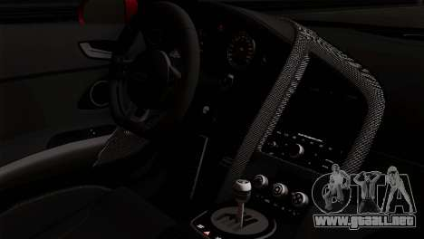 Audi R8 v2 para la visión correcta GTA San Andreas