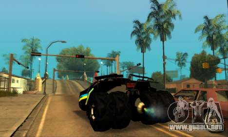 The Tumbler UA Style para GTA San Andreas left