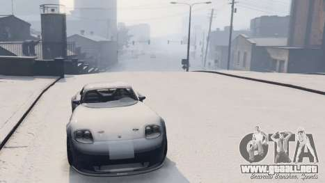 GTA 5 GTA V Online Snow Mod cuarto captura de pantalla