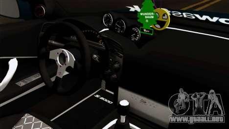 Honda S2000 para la visión correcta GTA San Andreas