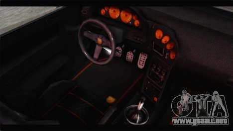 GTA 5 Pegassi Zentorno Spider para GTA San Andreas vista hacia atrás