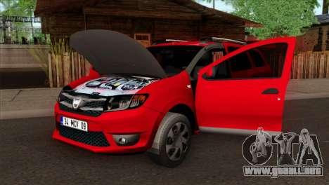 Dacia Logan MCV 2013 HQLM para la visión correcta GTA San Andreas