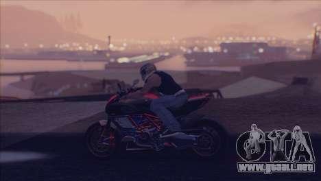 Real Live ENB para GTA San Andreas sexta pantalla