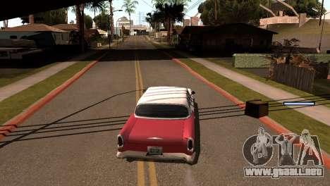 Nueva sombra sin perder FPS para GTA San Andreas quinta pantalla