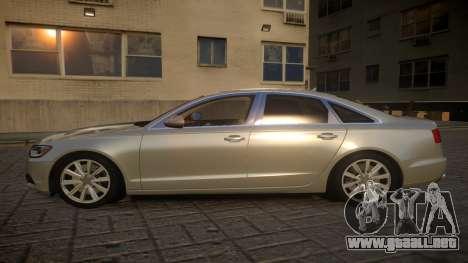 Audi A6 2012 v1.0 para GTA 4 left