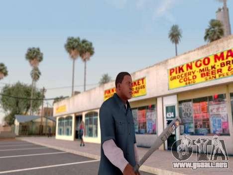 ENB por medio de la PC por WD para GTA San Andreas sexta pantalla