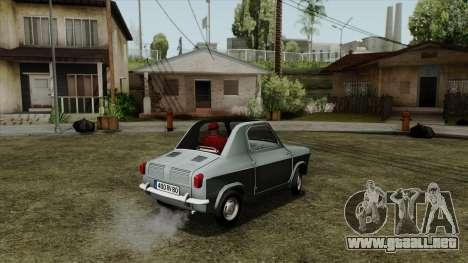 Vespa 400 para GTA San Andreas left