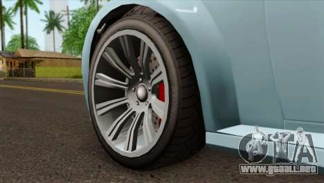 GTA 5 Ubermacht Zion XS Cabrio IVF para GTA San Andreas vista posterior izquierda