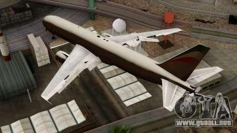 Boeing KC-767 Aeronautica Militare para GTA San Andreas left