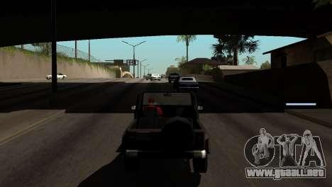 Nueva sombra sin perder FPS para GTA San Andreas décimo de pantalla