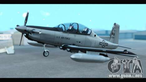 Beechcraft T-6 Texan II US Air Force 3 para GTA San Andreas