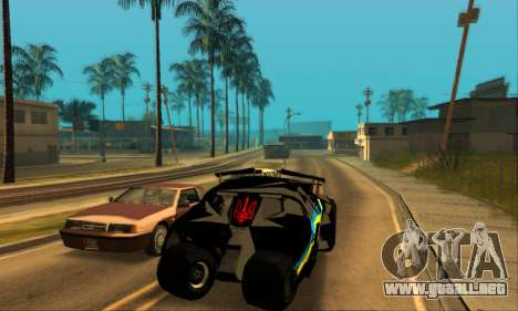 The Tumbler UA Style para GTA San Andreas vista posterior izquierda