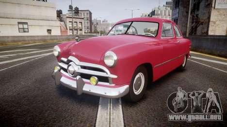 Ford Business 1949 v2.2 para GTA 4