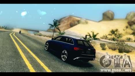 ENB v4 para GTA San Andreas tercera pantalla