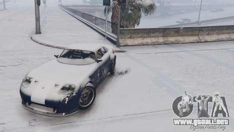 GTA 5 GTA V Online Snow Mod quinta captura de pantalla