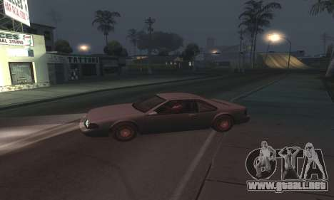 Beautiful ENB + Colormod 1.3 para GTA San Andreas quinta pantalla