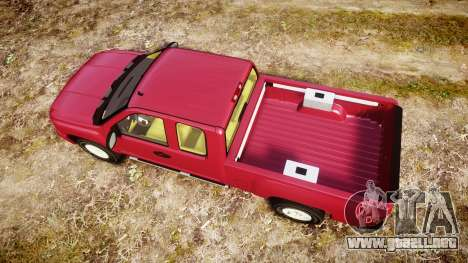 Chevrolet Silverado 1500 LT Extended Cab wheels1 para GTA 4 visión correcta