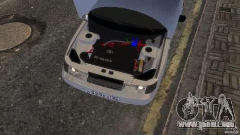 VAZ 2112 coupe BadBoy para GTA 4 vista hacia atrás