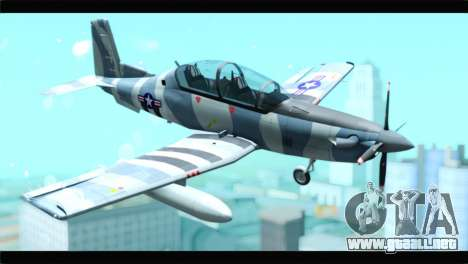 Beechcraft T-6 Texan II United States Air Force para GTA San Andreas