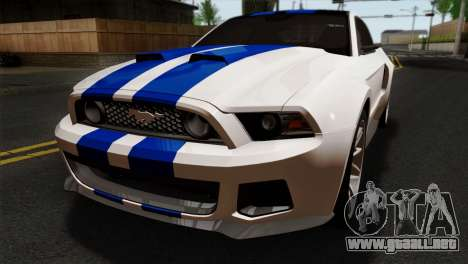 Ford Shelby 2014 para GTA San Andreas