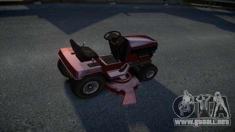 GTA V Lawn Mower para GTA 4 visión correcta