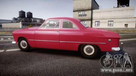 Ford Business 1949 v2.2 para GTA 4 left