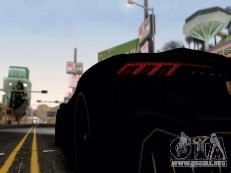 ENB por medio de la PC por WD para GTA San Andreas sucesivamente de pantalla