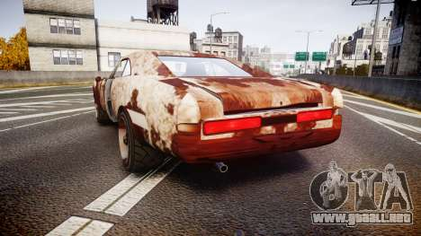 Imponte Dukes Beater para GTA 4 Vista posterior izquierda