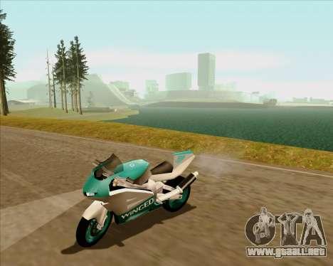 NRG-500 Winged Edition V.2 para la vista superior GTA San Andreas