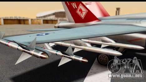 McDonnell Douglas FA-18C Hornet VMFA-232 USMC para la visión correcta GTA San Andreas