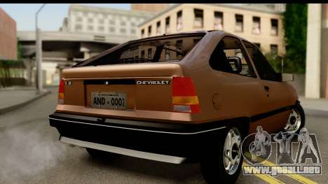 Chevrolet Kadett SL v2.0 para GTA San Andreas left