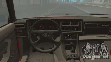 VAZ M para GTA San Andreas vista posterior izquierda