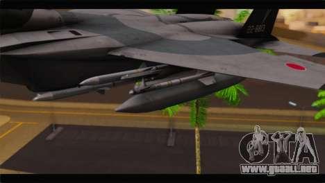 F-15J Hyakuri Air Base 30th Anniversary para la visión correcta GTA San Andreas