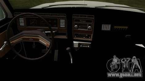 Ford F-150 1982 Final para la visión correcta GTA San Andreas