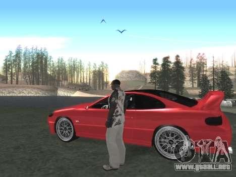 Final De Niza ColorMod para GTA San Andreas sucesivamente de pantalla