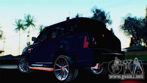 Range Rover Sport 2012 Samurai Design para GTA San Andreas left