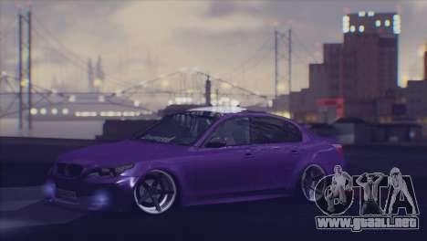Real Live ENB para GTA San Andreas sucesivamente de pantalla