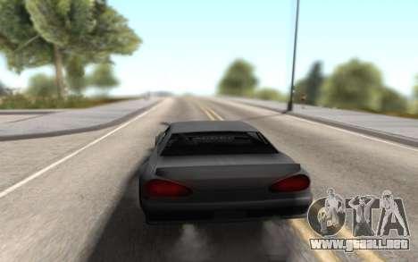 Elegy Drift by Randy v1.1 para GTA San Andreas vista posterior izquierda