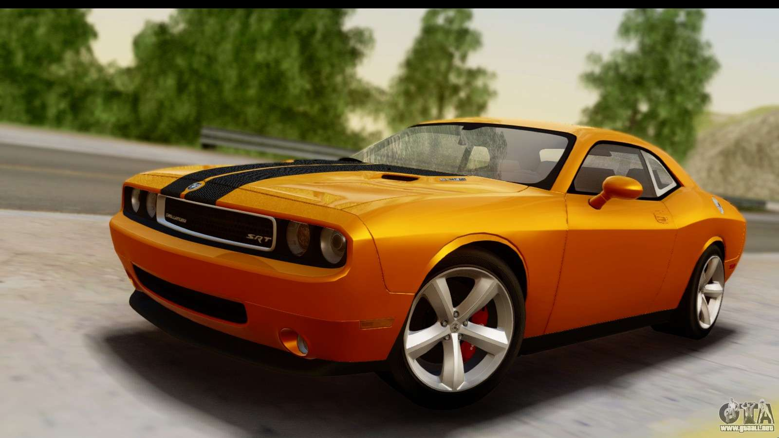 dodge challenger srt8 2009 para gta san andreas. Black Bedroom Furniture Sets. Home Design Ideas