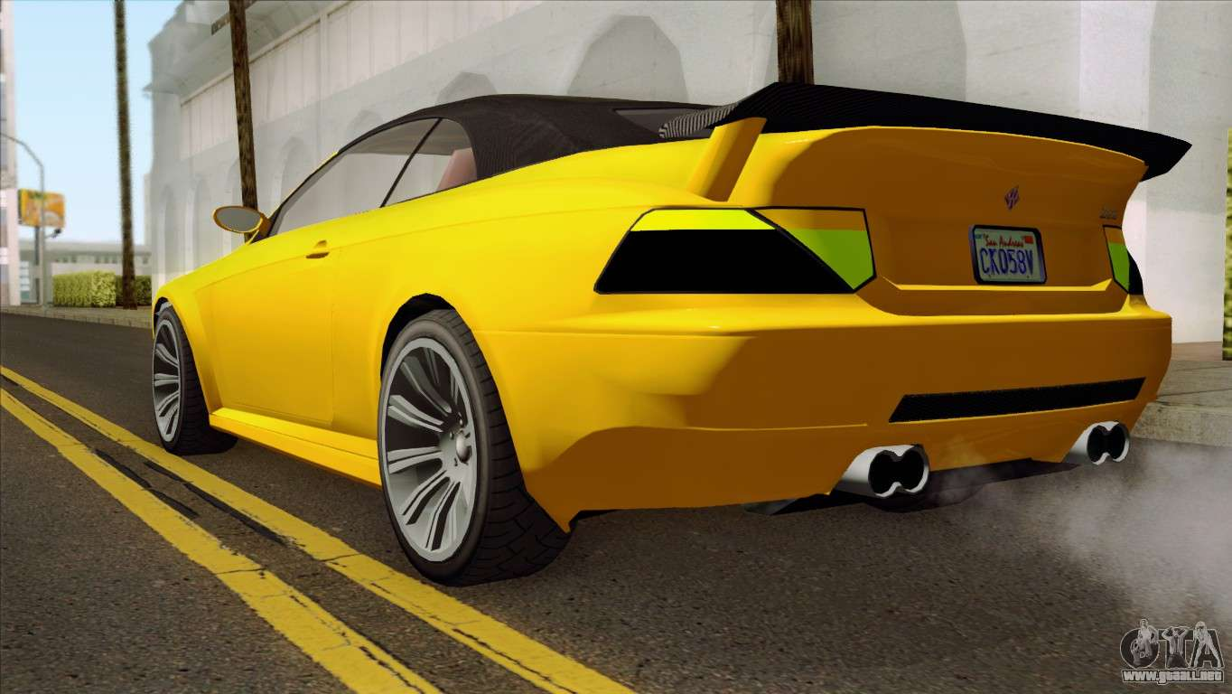 GTA 5 Ubermacht Zion XS Cabrio para GTA San Andreas Ubermacht Zion Cabrio Gta 5