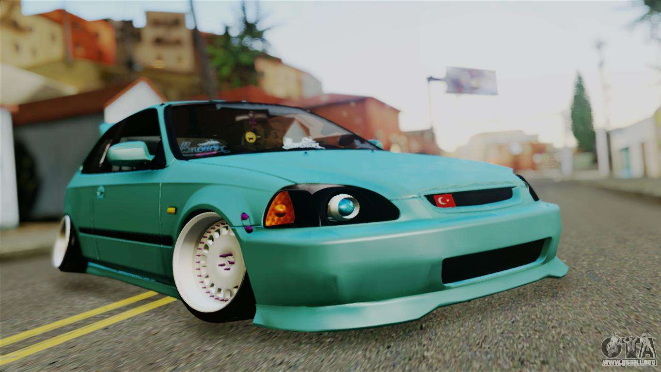 honda civic 1 4 hatcback para gta san andreas. Black Bedroom Furniture Sets. Home Design Ideas