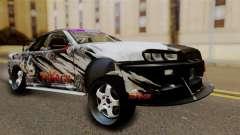 Nissan Skyline GTR34 Tokage para GTA San Andreas
