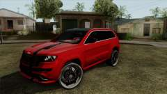 Jeep Grand Cherokee SRT8 para GTA San Andreas