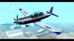Beechcraft T-6 Texan II US Air Force 2 para GTA San Andreas