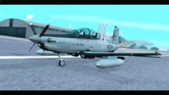 Beechcraft T-6 Texan II US Air Force 4 para GTA San Andreas