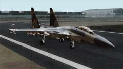 SU-37 Flanker-F Polish Air Force para GTA San Andreas