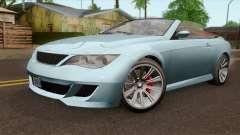 GTA 5 Ubermacht Zion XS Cabrio IVF para GTA San Andreas